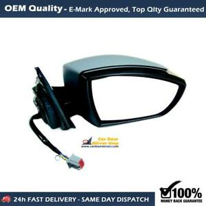 Electric Wing Mirror Unit ( Primed ) For Ford Galaxy FITS To 2007 to 2015, RHS