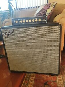 """Fender Rumble 115 Bass Extension Cab with Eminence driver 15"""" speaker"""