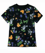 Disney Store Mickey Mouse Halloween Short Sleeve Shirt Boy Size Small 5/6 Kids S