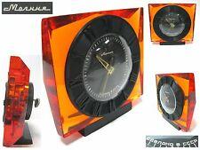 Vintage Soviet Russian Clock MOLNIJA Molniya Table Mantel USSR LAST CENTURY