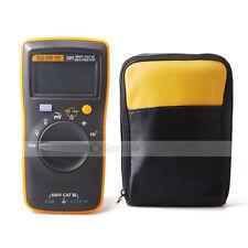 Fluke 101 Mini Multimeter With Soft Case Holster Belt Carrier Bag Handheld