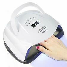 80W LED UV Lamps for Gel Nail Dryer Smart Sensor Nail Curing Light10/30/60/90s