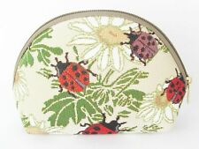 Tapestry Ladybird or Ladybug Cosmetic purse or bag by Signare
