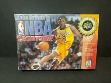 Kobe Bryant in NBA Courtside (Nintendo 64, 1998) N64 Sealed New PC Sticker NM