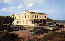 Hotel East Bay GRAND MARAIS MN Lake Superior Minnesota Roadside Postcard c1950s