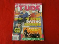 Vintage Pop Teen Rock Magazine with Posters Tude Feat. N' Sync and More G5