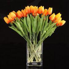 20 Stueck Tulpe Blumen Latex fuer Hochzeit Blumenstrauss kor - Goln  D6S H7O2 2x
