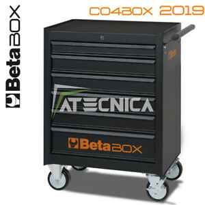 Cassettiera mobile 6 cassetti Beta C04 BOX dark carrello portautensili officina