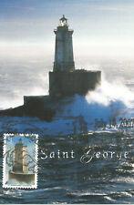 St George Reef California Lighthouse Usa Maximum Card Scott #4150