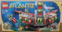 Lego Atlantis 8077 Unterwasser Hauptquartier 100% komplett, Sticker NEU, TOP!