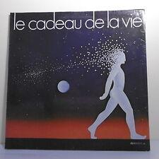 """33T CADEAU DE LA VIE 1979 Disque LP 12"""" CLERC BRASSENS GALL DUTEIL MOREAU SHEILA"""