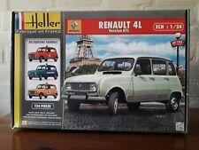Heller 1/24 Ref: 80759 Renault 4 L Version GTL Plastic Modelkit