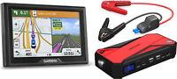 Garmin Drive 50LM GPS with Lifetime Maps & DBPower 800A Car Jump Starter Bundle