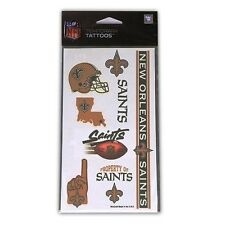 New Orleans Saints Temporary Tattoos