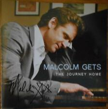 Malcolm Gets Signed CD The Journey Home Autographed BrandNew Broadway Actor 2011
