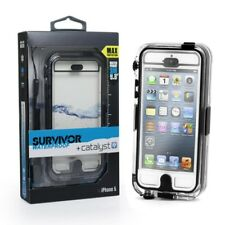 Griffin Survivor Catalyst Waterproof Case for iPhone 5 5s Black Clear Colour