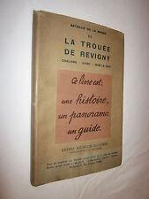 BATAILLE DE LA MARNE III LA TROUEE DE REVIGNY CHALONS VITRY BAR LE DUC MICHELIN