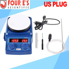 Four Es 5 Inch Led Digital Hotplate Magnetic Stirrer With Ceramic Coated Plate