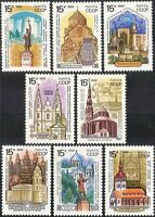 Russia 1990 Historic Monuments/Mosque/Tower/Buildings/Architecture 8v set n43755