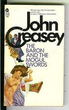 THE BARON AND THE MOGUL SWORDS by Creasey, Avon #V2350 crime gga pulp vintage pb
