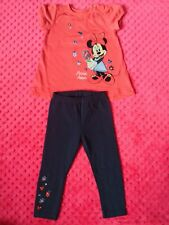 Disney Minnie Mouse Baby Girl outfit set bundle size 9-12 months