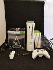 Microsoft Xbox 360 System White Console  Assassin's Creed COLLECTORS LOT GAMES