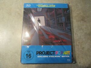 The Equalizer - Project POPART - Blu-Ray - Steelbook - Sammlung