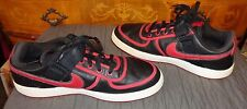 NIKE VANDAL LOW BLACK/VARSITY RED SNEAKERS 11.5 #312456-061