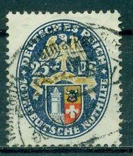 Gestempelte Briefmarken aus dem deutschen Reich (1924-1932)