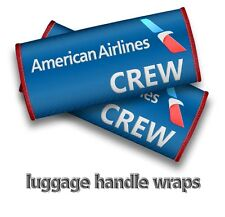 AMERICAN AIRLINES CREW Handle Wraps x2