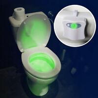 Éclairage pour lunette de WC - Lumière LED avec détecteur de mouvement - Déco