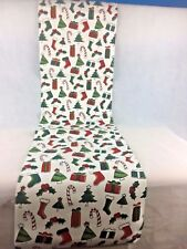Pure 100% Cotton  Printed Kitchen Fabric Set of 12 pieces w Christmas design NEW