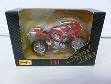 Maisto Ducati Motorcycle Red 1:18