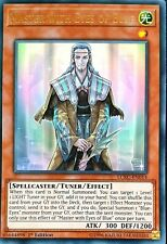 3 x YuGiOh MASTER WITH EYES OF BLUE Ultra Rares 1st Edition Mint LCKC-EN014