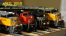 HO WARM WHITE MONSTER LEDS BLI SCALETRAINS INTERMOUNTAIN GP38 ET44AH ET44AC SD40