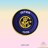 Inter Milan Foot Ball Club Embroidered Iron On Patch Sew On Badge