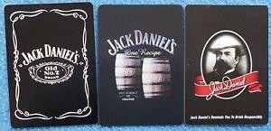 26 x single JACK DANIEL'S BOURBON WHISKEY playing cards