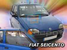 Wind Deflectors FIAT SEICENTO/600 3-doors 1998-2005 2-pc HEKO Tinted