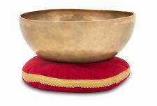 Campana Tibetana 7 Metalli Meditazione Yoga Diametro 30cm 2800g Set con Cuscino