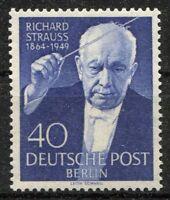 Berlin Nr. 124 ** sauber postfrisch Todestag Richard Strauss 1954 MNH