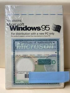 MICROSOFT WINDOWS 95 with FLOPPY DISK
