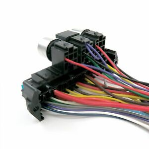 """1955 - 1957 International 26"""" Frame Wire Harness Upgrade Kit fits painless fuse"""