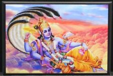 "Vishnu 2"" X 3"" Fridge Magnet. Hindu God"