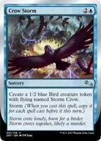 4x Crow Storm MTG Unstable NM Magic Regular