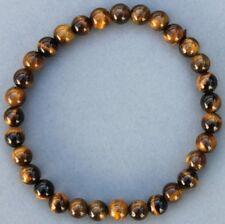 """Bracelet Oeil de tigre 6 mm """"Médium"""""""
