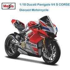 Maisto Ducati Panigale V4 S Corse 1:18 original Italia MotoGP Superbike