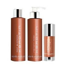 Abril et Nature Keratin treatment (shampoo, conditioner and serum) GREAT PRICE