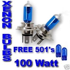 For Toyota Starlet inc Glanza Sr  ULTRA XENON bulbs H4 100w