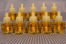 10 Air Wick Scented Oil Refills WHITE MUSK & LINEN White Collection Airwick