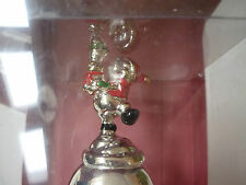 2006 Lenox 30th Annual Musical Bell - Winnie the Pooh - Christmas Santa